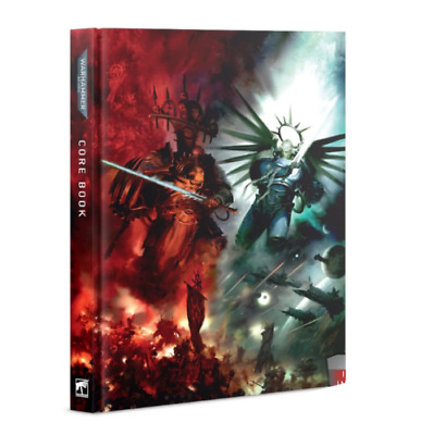Warhammer 40k - 9th Edition Rulebook Hardback (From Indomitus - New In Stock) • 16.99£