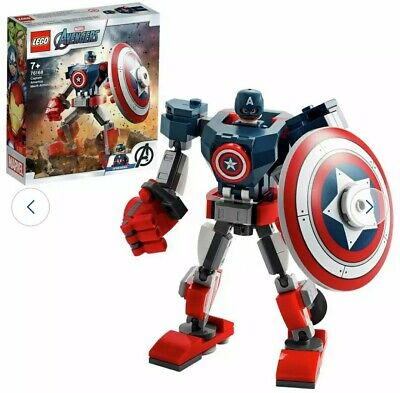 LEGO Marvel Super Heroes Captain America 76168 • 15.99£