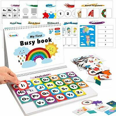 My First Baby Busy Book, Busy Board Toys Book Montessori Toddler Book • 21.99£