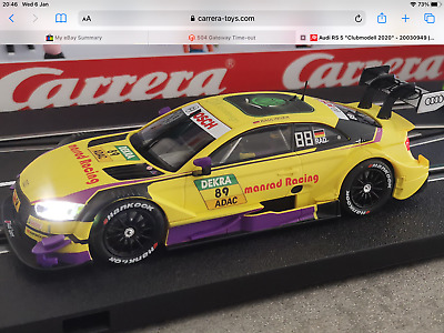 Carrera Audi RS5 2020 Club Car Digital 132 Car Brand New Free Postage • 95£