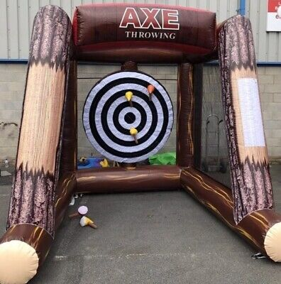 AX Throwing Inflatable Game • 650£