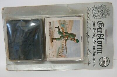 Vintage Airfix Lead Soldiers Mould German Infantry Soldier • 9.99£