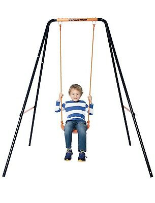 Hedstrom Single Play Swing Garden Toy Boys & Girls Robust Steel 3-10yrs Outdoor • 38£