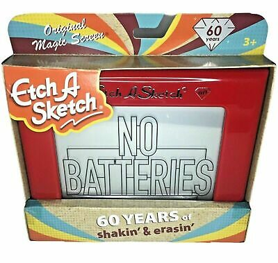 Etch A Sketch Classic Original Magic Screen - 60 Years Of Shakin' & Erasin' BNIB • 41.79£