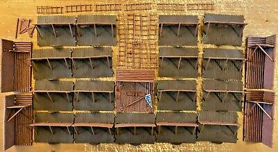 Timpo Fort Wild West Outpost 1:32 Scale Toy Soldiers • 50£