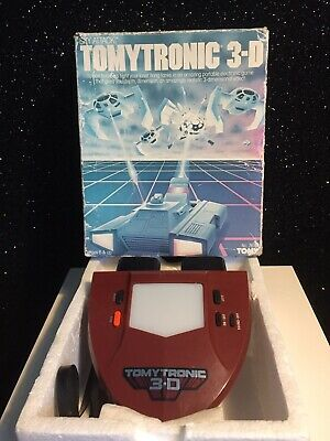 Boxed TOMYTRONIC 3-D Sky Attack - Vintage 1983 Handheld Electronic Game. NM • 49.99£