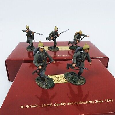 Britains W Britain Collectable Toy Soldier Set German 84th Infantry Mixed Sets • 39.99£
