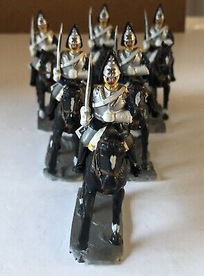 6 Mounted Household Cavalry Figures - Hand Painted • 15£