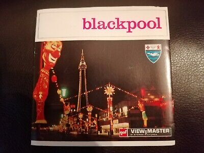 3d View Master Reels Of Blackpool • 18£