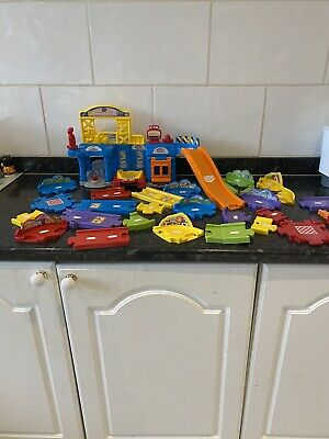Large Vtech Toot Toot Bundle Repair Centre And Loads Of Track • 5.50£