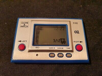 CGL Game & Watch Fire RC-04 LCD Game • 39£