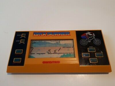 Rare! 1984 Bmx Burner Grandstand Lcd Pocket Game / Excellent Condition • 62.50£