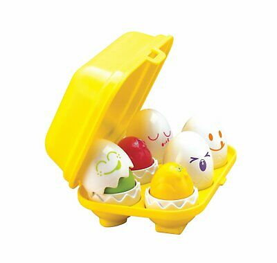 Tomy Hide And Squeak Matching Eggs Activity Toy • 8£