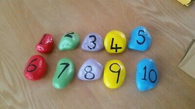 Number Pebble Set • 6£