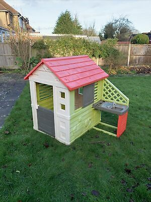 Smoby Nature Outdoor Playhouse With Kitchen • 35£