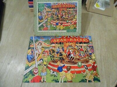 Vintage Victory Jigsaw At The Fair 70 Piece Wooden • 15£