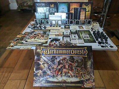 Warhammer Quest 1995 Main Game Boxed Set 99% Complete • 385£