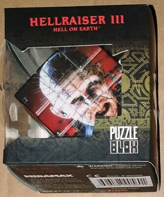 Hellraiser 3 Pinhead Puzzle Blox Mezco Toys Damaged Packaging • 8.49£