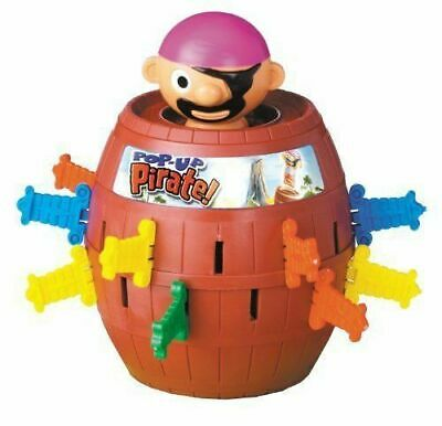 TOMY T7028A1 Pop-Up Pirate Game • 12.80£