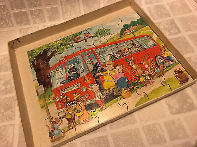 Vintage Victory Hand Cut Wood Jigsaw Puzzle  • 9£