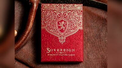 Sovereign STD Red Playing Cards By Jody Eklund • 19.90£