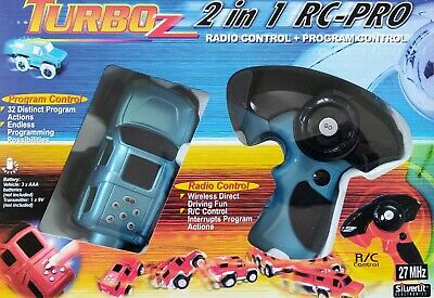 Turbo Rz Remote Control Car - NEW - Blue - RC Toy Xmas Gift - 2 In 1 RC Pro UK  • 19.99£