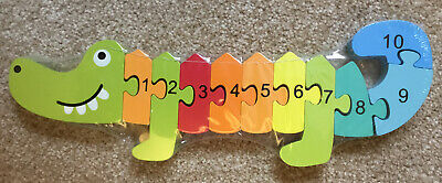 Numbers Crocodile Jigsaw 1-10 • 2.50£