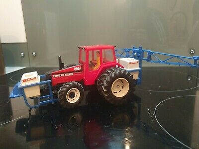 Britains Valmet Tractor With Front And Rear Sprayer. • 10£