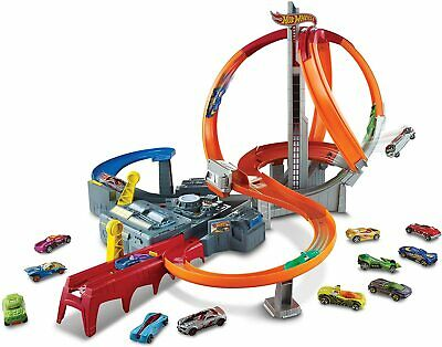 Hot Wheels Spin Storm Track Set Multicoloured  • 148.69£