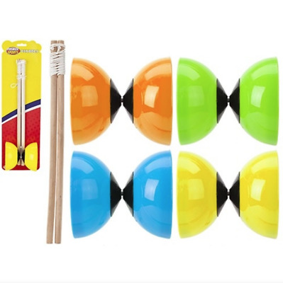 Diabolo Toy Juggling Game Indoor Outdoor Games Circus Festival Beginners Kids  • 6.89£