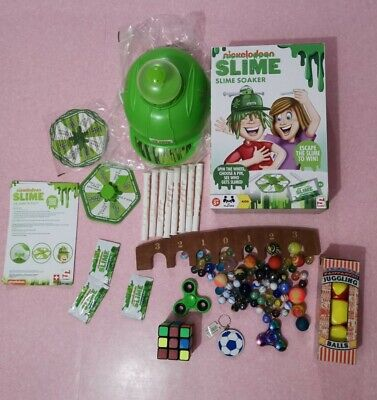 Ridley's Juggling Balls, Marbles Game Fidgit Spinners, Rubix Cube Slime Soaker • 10£