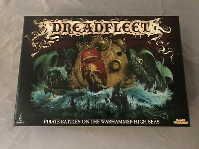Pro Painted WARHAMMER Dreadfleet Limited Edition Board Game OOP • 450£