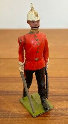 Antique 1920 John Hill & Co Articulated Lead Soldier British Army Figure  • 19.99£