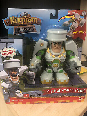 Little Tikes Kingdom Builders Sir Hammer Of Head Exclusive Action Figure • 3£