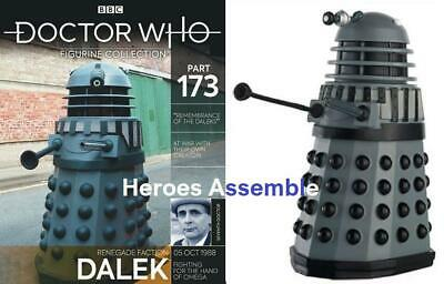 Doctor Who Figurine Collection #173 Renegade Faction Dalek Eaglemoss New 171 172 • 24.99£