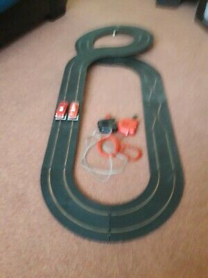 Nice Complete Working Minic Motorway Racing Car Layout, Track Rubber Replaced , • 50£