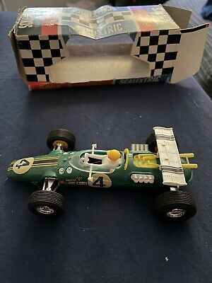 Vintage Scalextric C8 Lotus Indianapolis GP Race Tuned (boxed) • 40£