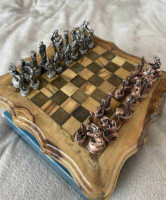 Chess Sets Used, Hand Made • 50£