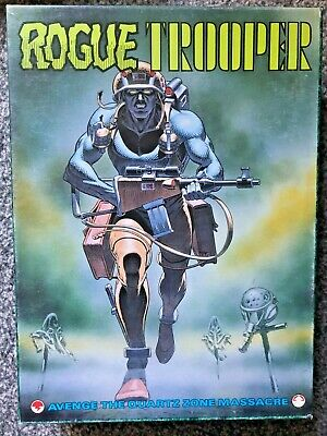 Rogue Trooper Board Game 2000AD (Games Workshop 1987) • 19.99£