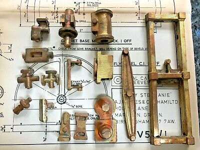 Lady Stephanie  Beam Engine - castings & Drawings • 100£