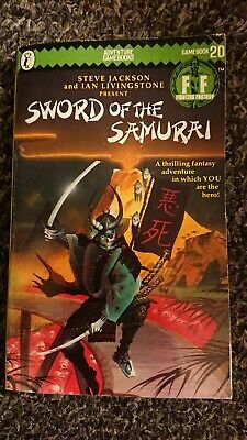 Fighting Fantasy #20 Sword Of The Samurai Green Zig Zag SIGNED By Both • 20£