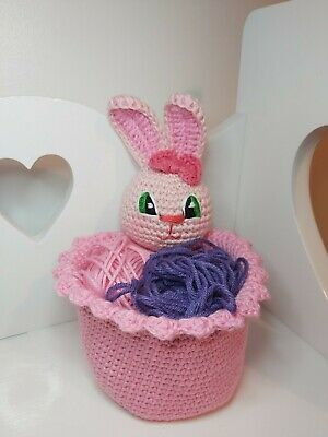 Easter Decorations Bunny  Basket • 10.50£