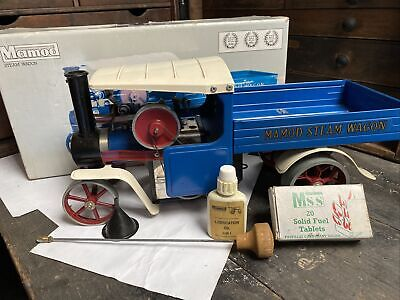 Live Steam Mamod SW1B Blue Lorry/ Wagon Boxed - Model Toy Steam • 130£