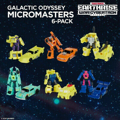 Transformers War For Cybertron Galactic Odyssey Micron Micromasters • 36£