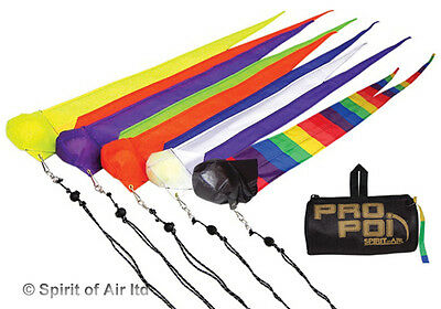 Fully Adjustable Poi By Spirit Of Air - Various Colours • 16.99£
