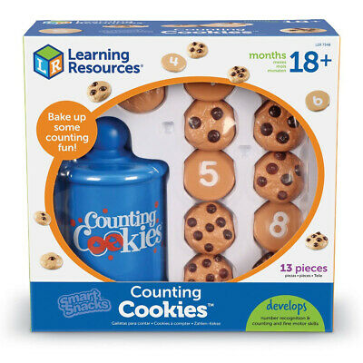 Learning Resources Smart Snacks Counting Cookies NEW • 21.99£