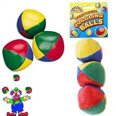 Learn To Juggle Set Of 3 X Coloured Juggling Balls!! • 1.69£