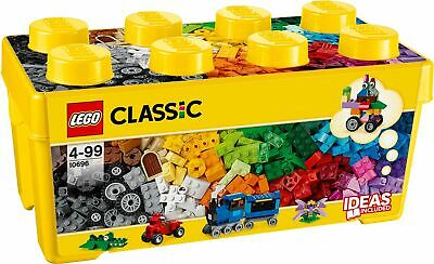 LEGO Classic Medium Creative 484 Pieces Brick Box Building Set - 10696 • 25£