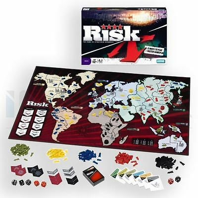 Risk: The Game Of Strategic Conquest Board Game Family Fun Faster Gameplay • 18.99£