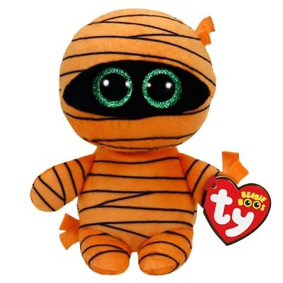 Ty Halloween Beanie Babies Boos Mask Mummy Plush Soft Toy New With Tags • 7.95£